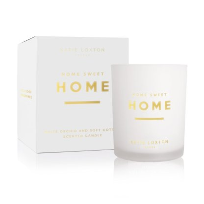 Katie Loxton Sentiment Candle – Home Sweet Home