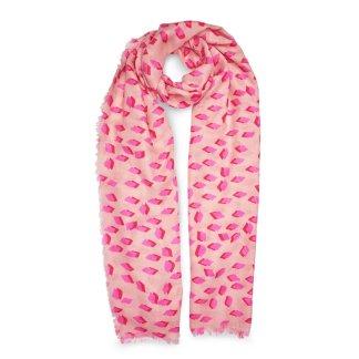 Katie Loxton Printed Scarf – Diamond Print, Pink