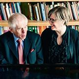 Lincoln Mayorga and Sheri Bauer-Mayorga