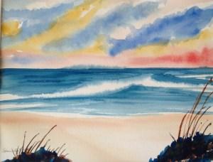 Beach wave 3