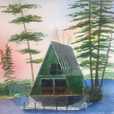 Oliver Lodge A-Frame