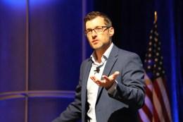 Spencer X Smith speaking at NAFIC Las Vegas