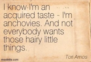 Just thought this was a funny anchovy quote.