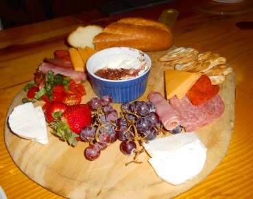 Charcuterie Board at Grapes