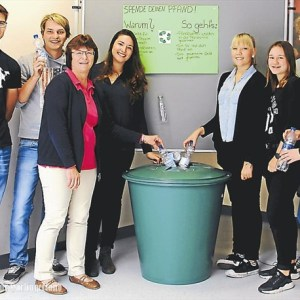 KGS Wittmund sammelt Pfand für den guten Zweck