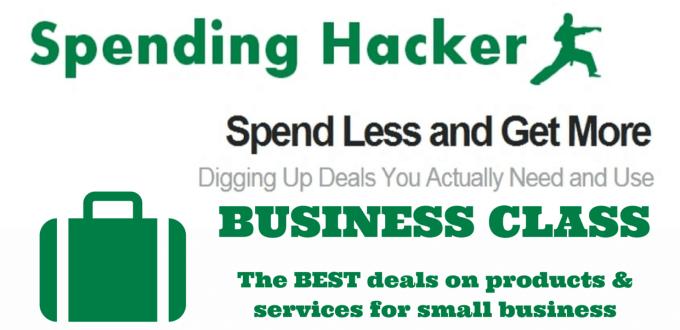 Spending Hacker Business Class