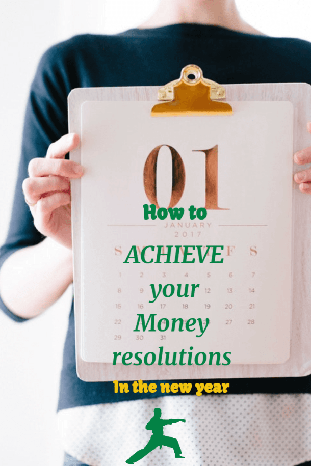 Money New Year Resolutions