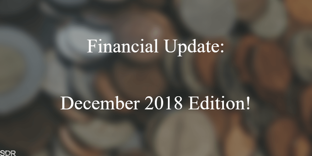Financial Update for December 2018