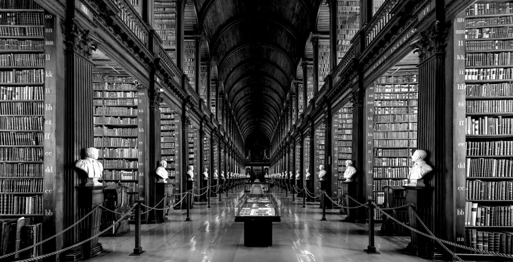 The Large Library, University College, Dublin