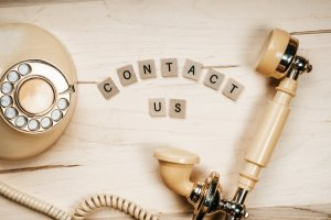 Contact Us (Photo by Nicole De Khors from Burst)