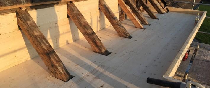 Flachdacharbeiten in Kleinwangen