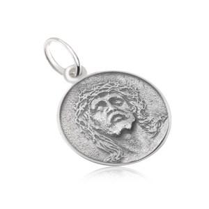 Okrúhly medailón s tvárou Ježiša