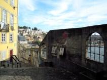 Bird graffiti in Porto