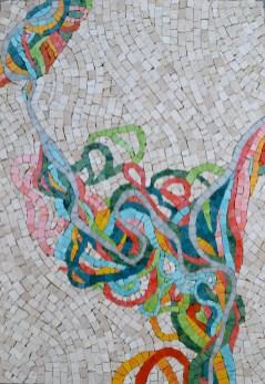 Mississippi Meander mosaic