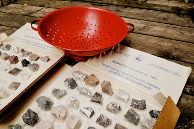 Awww yeah - rock and mineral identification sets from the Geological Survey of Canada (from way back in 1966!)