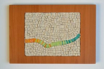 """Pulse"" mosaic by Julie Sperling"