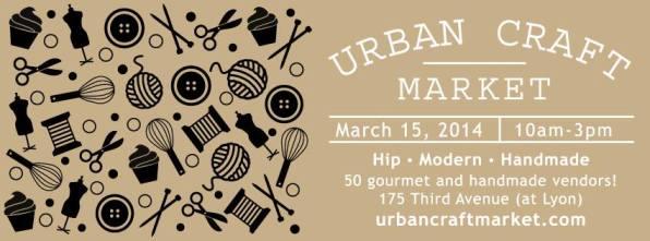 urban craft - march 15