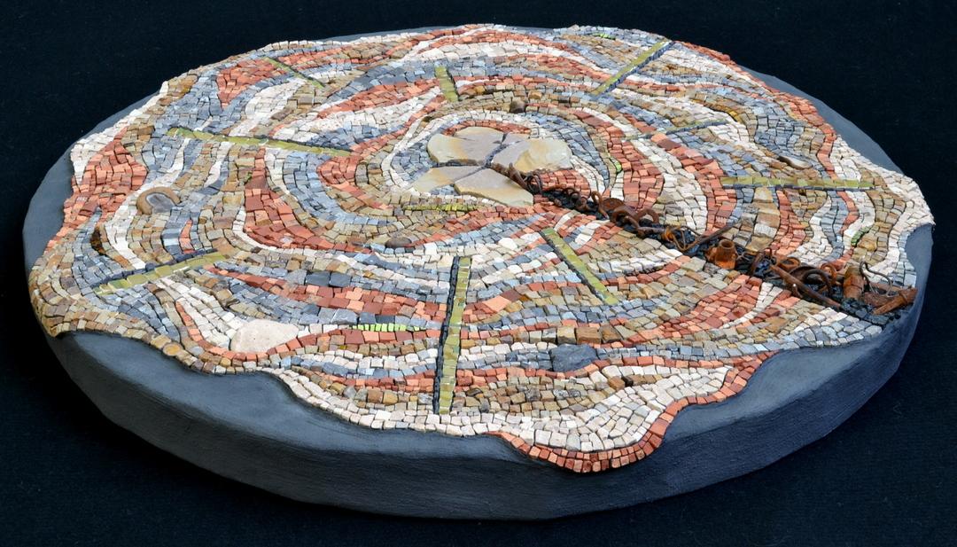 Julie Sperling climate change mosaic pie graph scientific consensus