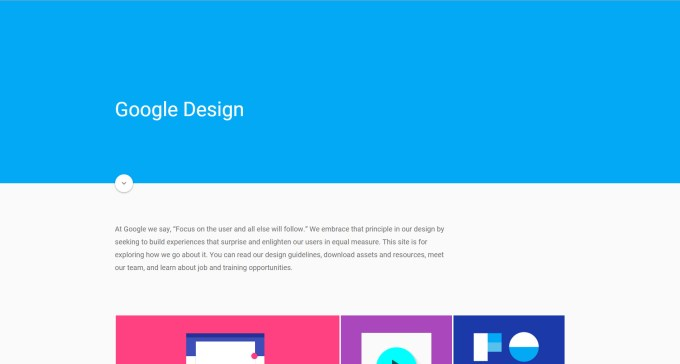 Speros Web Design Trends: Material Design