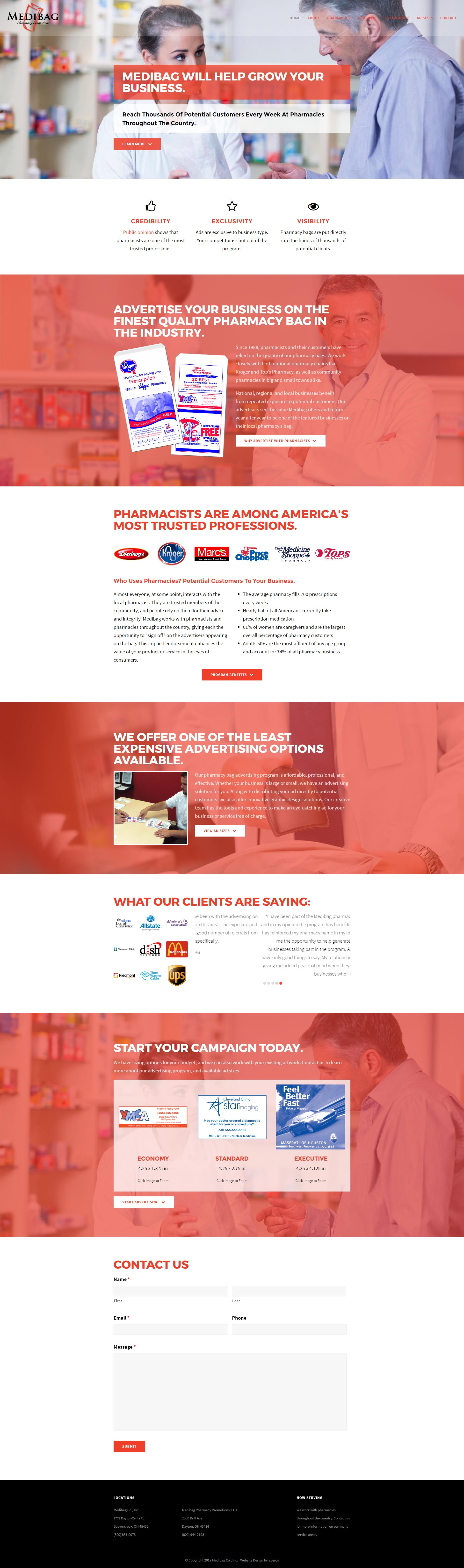 Medibag Website