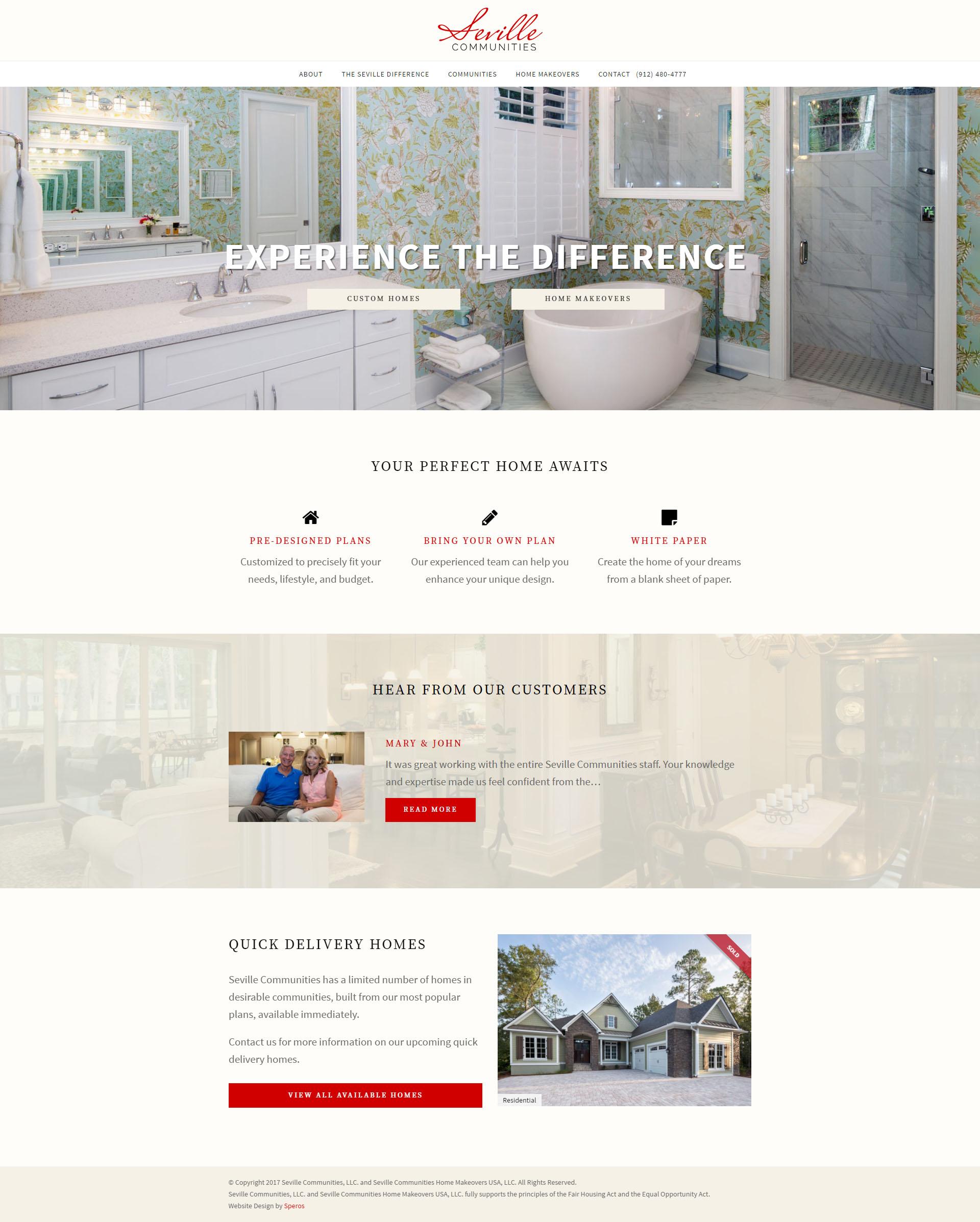Seville Communities Website