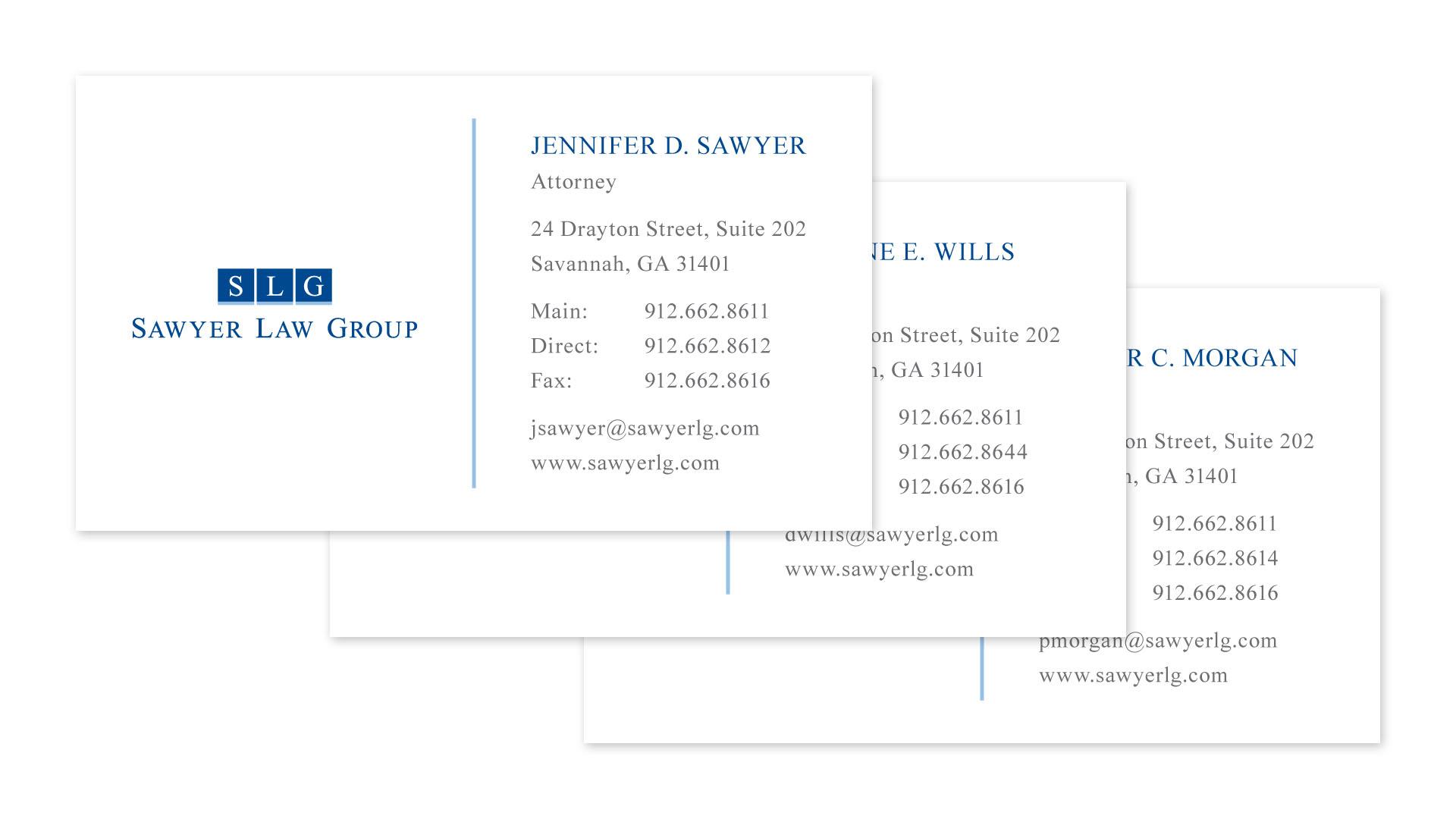 Speros Graphic Design - Sawyer Law Group
