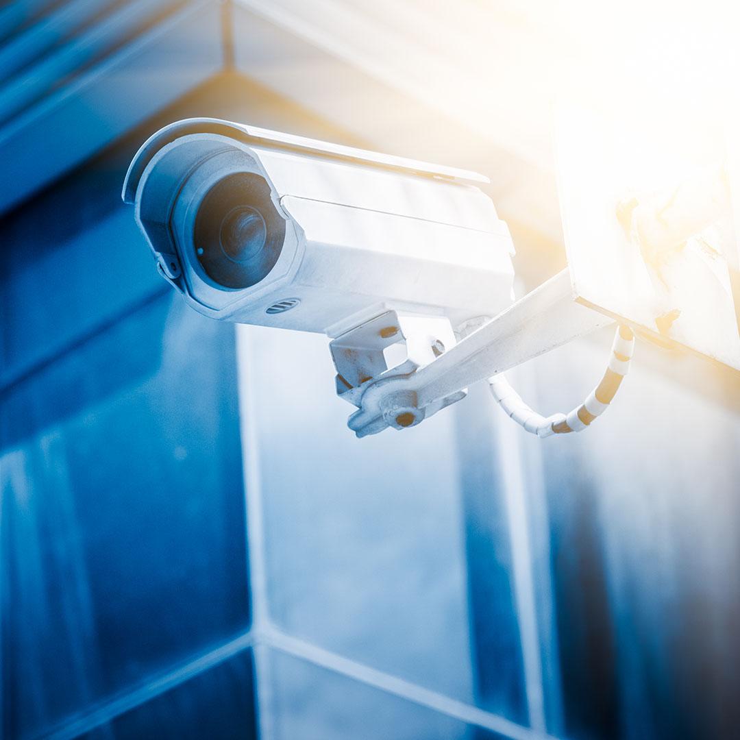 Bullet Surveillance Camera - Speros Technology Services - Savannah