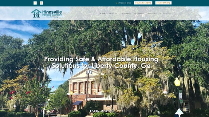 Hinesville Housing Authority Launches New Website Created By Speros