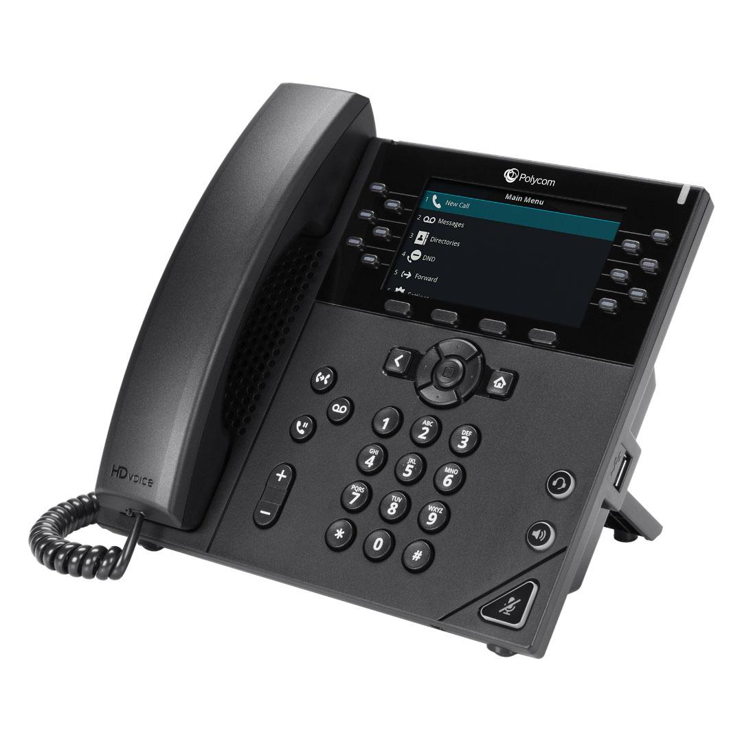 Polycom VVX 450 Desk Phone - Speros - Savannah, GA