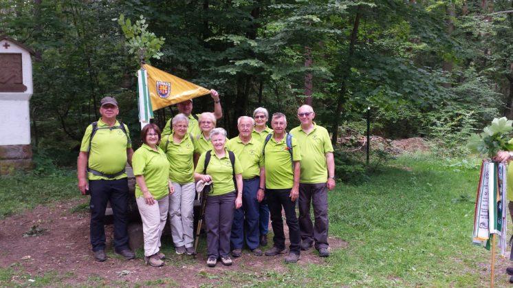 Wimpelwanderung 2017 nach Obernau