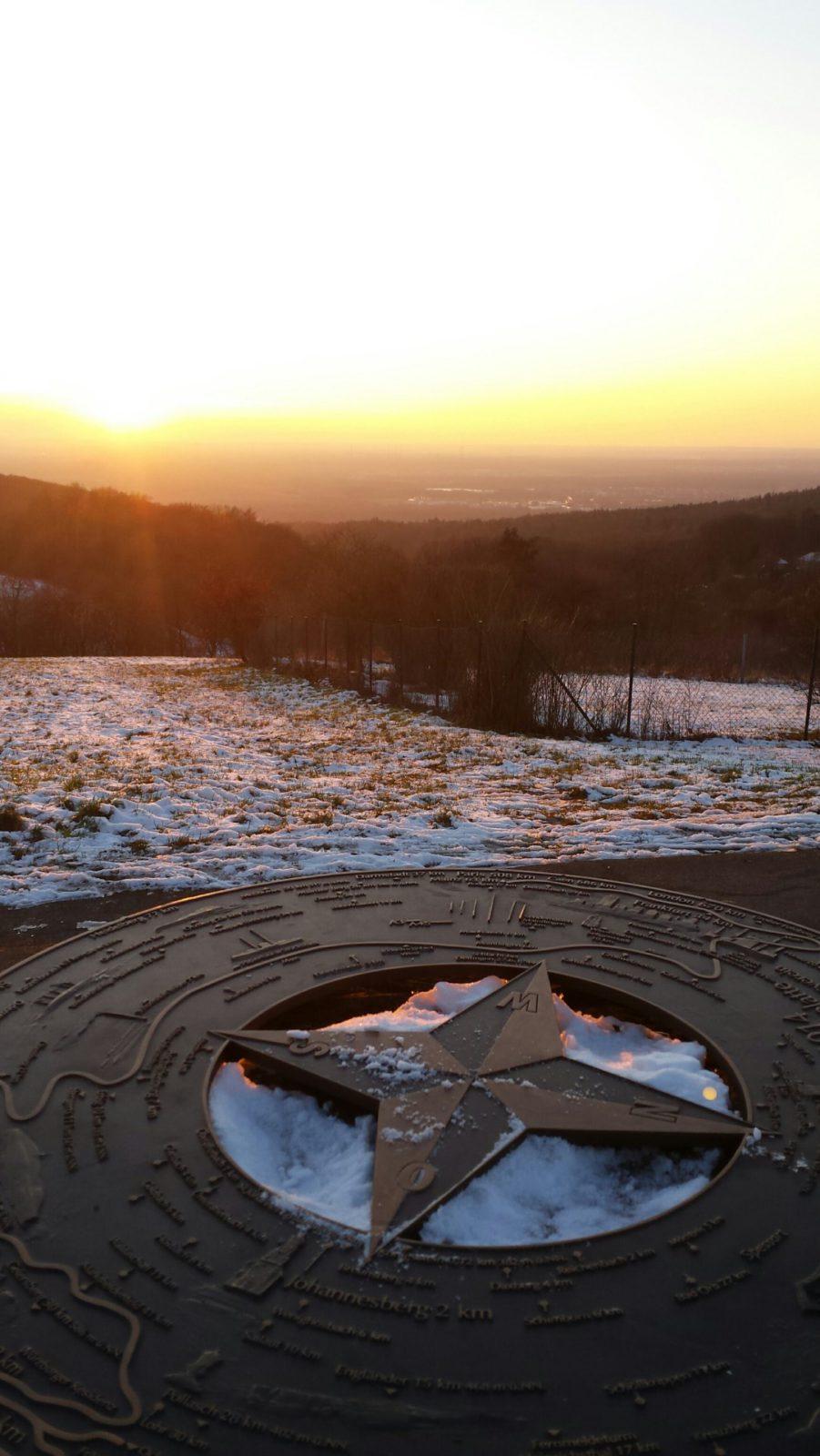 2018 Sternberg Panoramaplatte im Abendrot