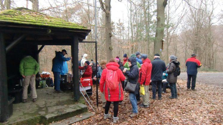 03.02.2019 – Glühwein, Tee und Jagertee an der Kleinostheimer Hütte