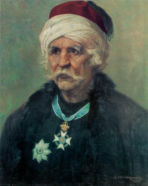 Χατζηγιάννης Θ.  Μέξης (1756-1844). ΄Εργο του ζωγράφου Δημήτριου Μπισκίνη.