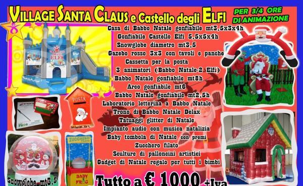 Villaggio Santa Claus e Elfi