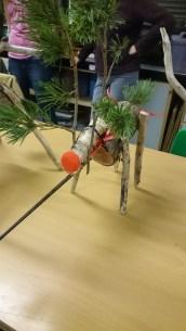 Wooden reindeer lesson