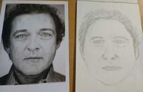 portraits pencil drawing