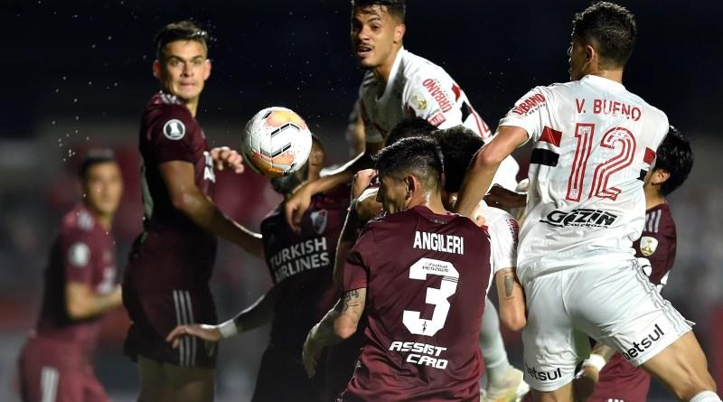Pela Libertadores, São Paulo e River Plate empatam no Morumbi