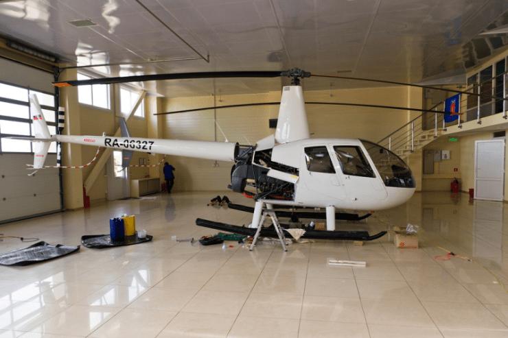 ремонт вертолетов 2