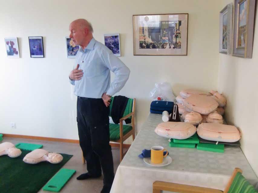 Hjärt-lungräddning HLR, våren 2016