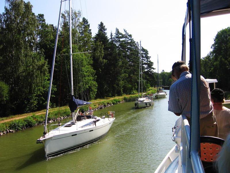 Två dagar på Göta kanal