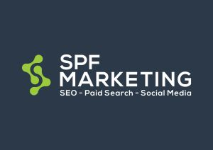 SPF Marketing with Green S Logo