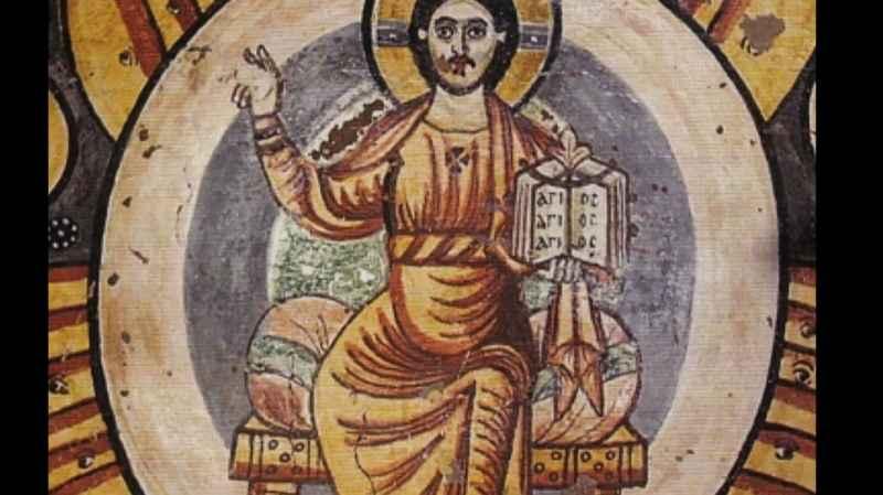 10 Primo Piano Di copti egiziani Gesù