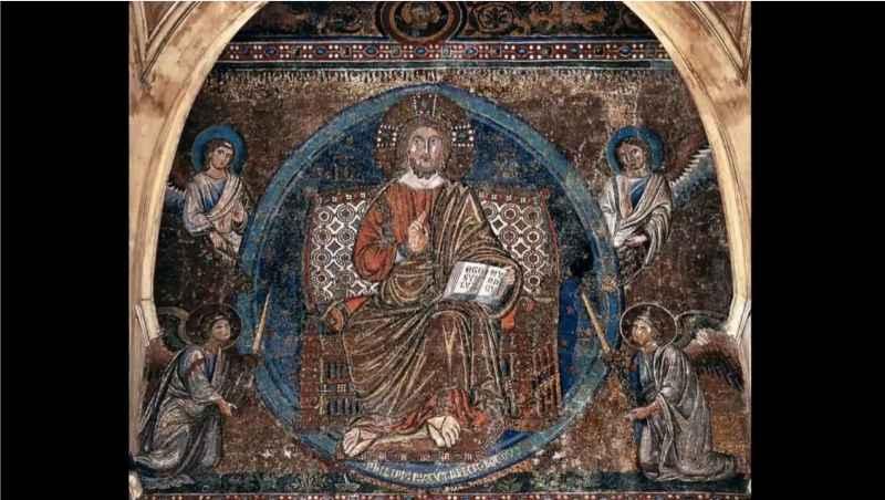 8 Gesù Ascensione Trono