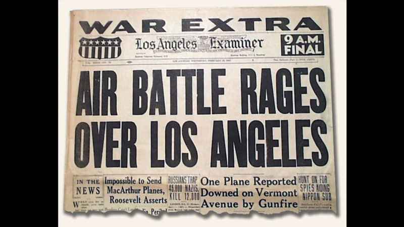 13 Newspaper Headline Battle Of LA