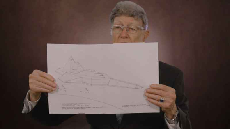 1 Tompkins And Drawing Of Spacecraft