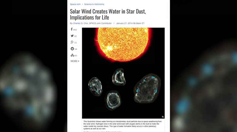 13 Solar Wind Creates Water