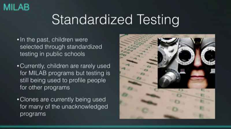 1 MILAB Standardized Testing