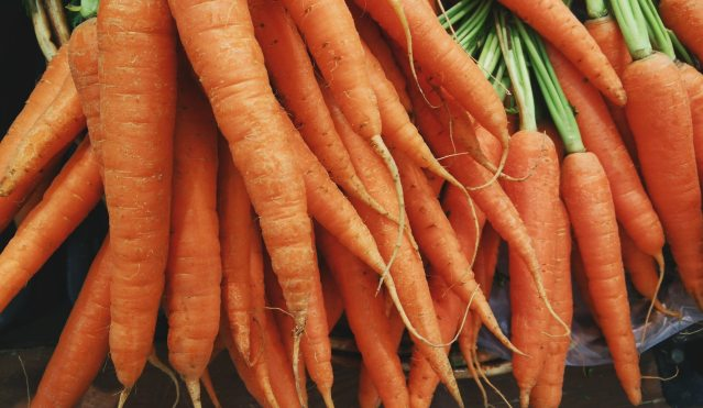 An image of a bunch of carrots