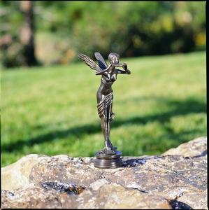 Fairy Bronze Garden Statue