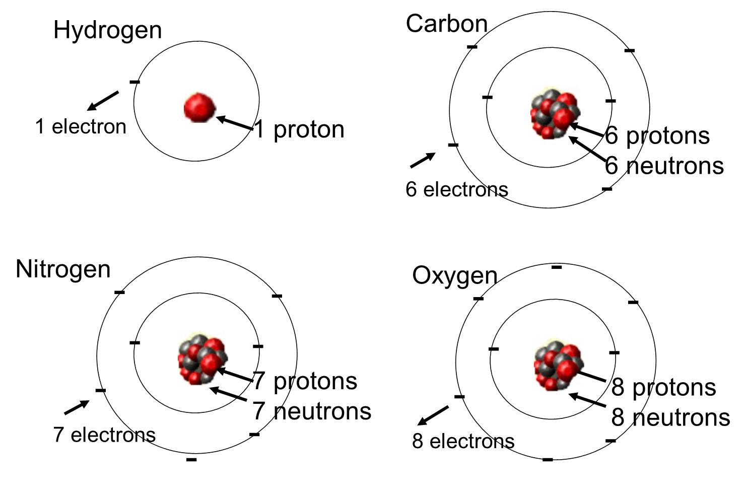 Bohr Model Of Oxygen Science Carbon Element Element Project